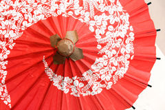 Japanse traditionele paraplu royalty-vrije stock afbeelding