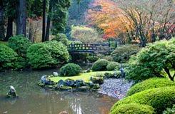Japanse Tuin Royalty-vrije Stock Foto