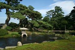 Japanse Tuin Stock Foto