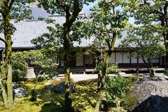 Japanse tuin in Daigoji-tempel, Kyoto Stock Afbeeldingen