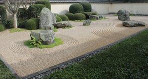 Japanse tuin in Hamilton Gardens, Nieuw Zeeland Royalty-vrije Stock Foto