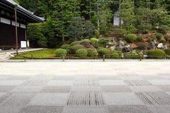 Japanse tuin in Kyoto Stock Foto