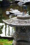 Japanse Tuin Latern Royalty-vrije Stock Foto