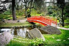 Japanse tuin zen royalty-vrije stock foto's