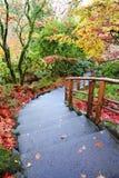 Japanse tuinen Stock Foto