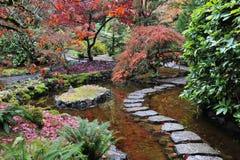 Japanse tuinen Royalty-vrije Stock Afbeelding