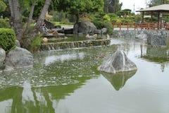 Japanse tuinen in La Serena Chile Royalty-vrije Stock Afbeelding