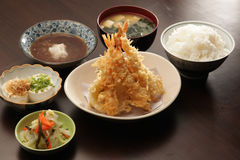Japanse vastgestelde maaltijd Royalty-vrije Stock Fotografie