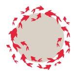Japanse vissenkoi-koi vector illustratie