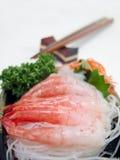 Japanse voedselperspectieven stock afbeeldingen