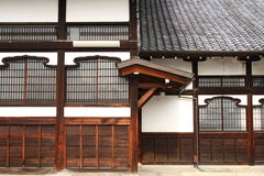 Japanse voorgevel Royalty-vrije Stock Foto's