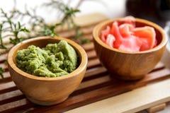 Japanse wasabi stock foto