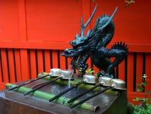 Japanse waterdraak stock foto's