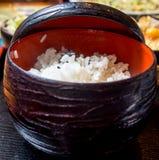Japanse witte rijst Royalty-vrije Stock Foto