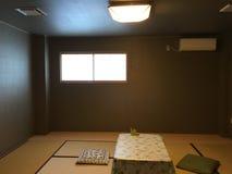 Japanse woonkamer royalty-vrije stock foto
