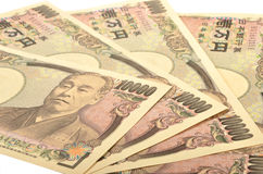 Japanse 10000 Yen Royalty-vrije Stock Foto
