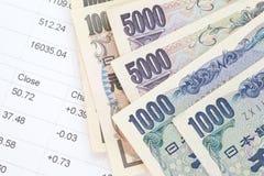 Japanse Yen Royalty-vrije Stock Fotografie