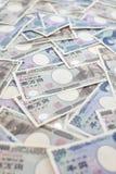 Japanse Yenbankbiljetten Royalty-vrije Stock Foto