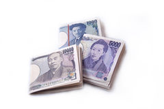 Japanse Yenrekeningen Royalty-vrije Stock Fotografie