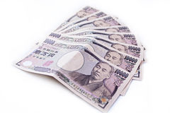 Japanse Yenrekeningen Royalty-vrije Stock Afbeeldingen