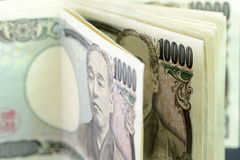 Japanse yens Royalty-vrije Stock Foto