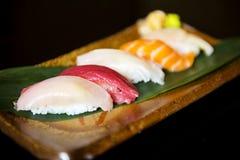 Japansk äta middag sund mat för sushi arkivbilder