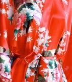 Japansk blom- modell Fotografering för Bildbyråer