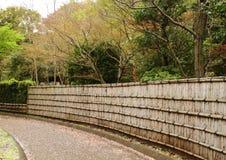 Japansk borggård Fotografering för Bildbyråer
