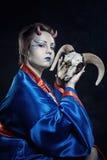 Japansk demon Arkivfoton