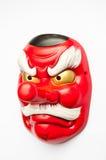 Japansk demonmaskering Arkivbilder