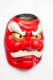 Japansk demonmaskering-Tengu Arkivfoto