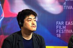 Japansk direktör Okita Shuichi Royaltyfri Fotografi