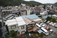 japansk förorterna royaltyfri fotografi