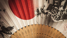 Japansk fan Arkivfoto