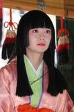 Japansk festival i Kagoshima Royaltyfri Fotografi