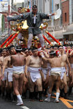 Japansk festival i Kagoshima Arkivbild