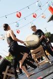 Japansk festivalmatsuri Royaltyfri Bild