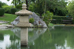 Japansk granitlykta Royaltyfria Foton