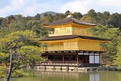 Japansk guld- tempel Arkivbilder