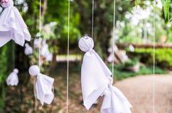 Japansk hängning för docka Royaltyfri Bild