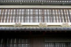 Japansk historisk arkitektur Royaltyfria Foton