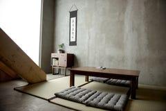 Japansk historisk stil för hem- dekor royaltyfria foton