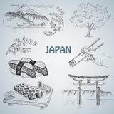Japansk illustration Royaltyfria Bilder