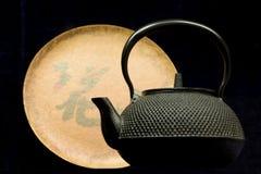 japansk kettle Arkivfoton