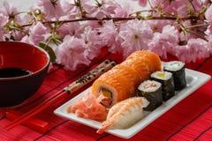 Japansk kokkonst Arkivfoto