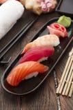 Japansk kokkonst Sushi Royaltyfri Foto