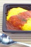 Japansk kokkonstomelett Arkivbild