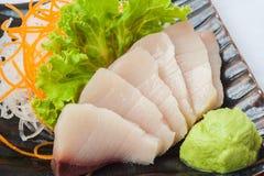 Japansk kokkonstsashimisushi Royaltyfri Foto