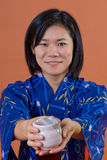 japansk kvinna arkivfoto