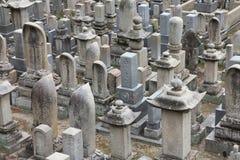 Japansk kyrkogård Royaltyfri Bild